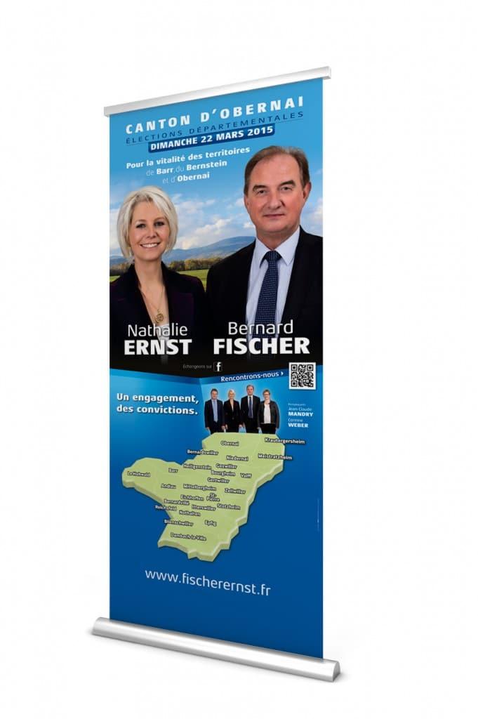ELECTIONS ERNST-FISCHER - Roll up pour les réunions publiques