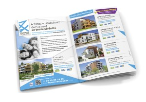 Annonce presse double page