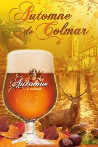 """Bière """"Automne de Colmar"""" - Affiche"""