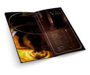 """Carte des Vins """"Midi Minuit"""""""