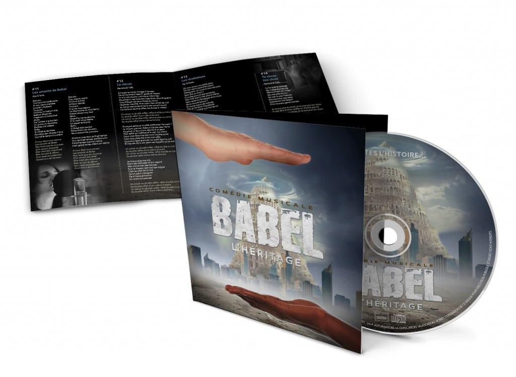 ALBUM CD de la Comédie Musicale BABEL
