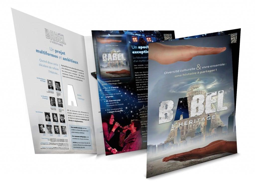 Plaquette de présentation du projet BABEL